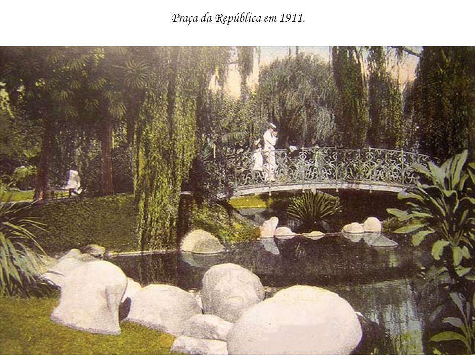 Praça da República em 1911.