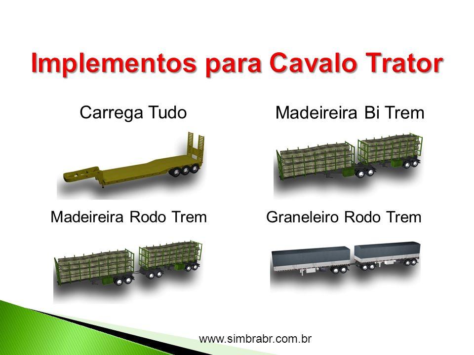 www.simbrabr.com.br Carrega Tudo Madeireira Bi Trem Madeireira Rodo Trem Graneleiro Rodo Trem