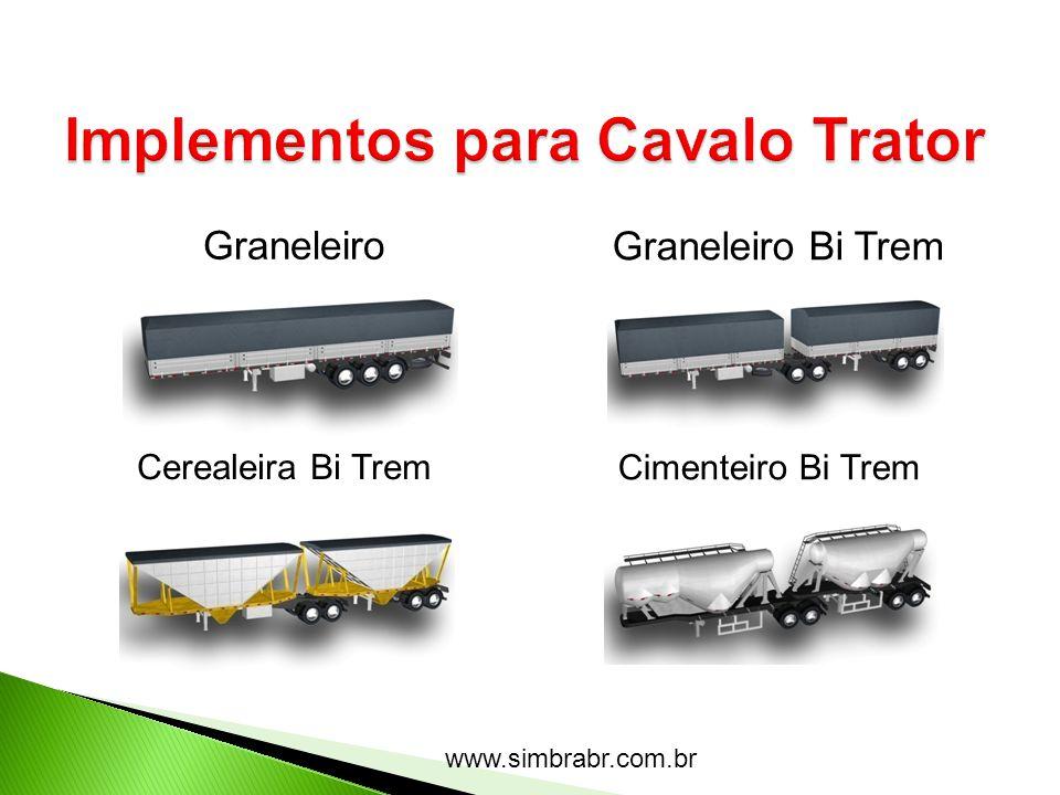 www.simbrabr.com.br Graneleiro Graneleiro Bi Trem Cerealeira Bi Trem Cimenteiro Bi Trem