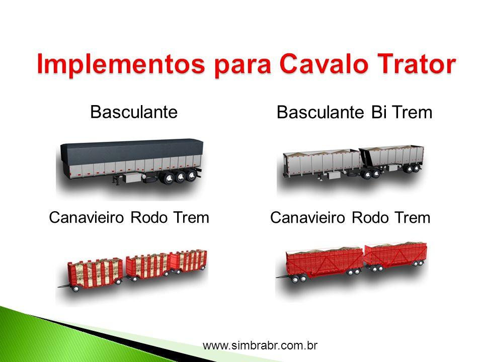 www.simbrabr.com.br Basculante Basculante Bi Trem Canavieiro Rodo Trem