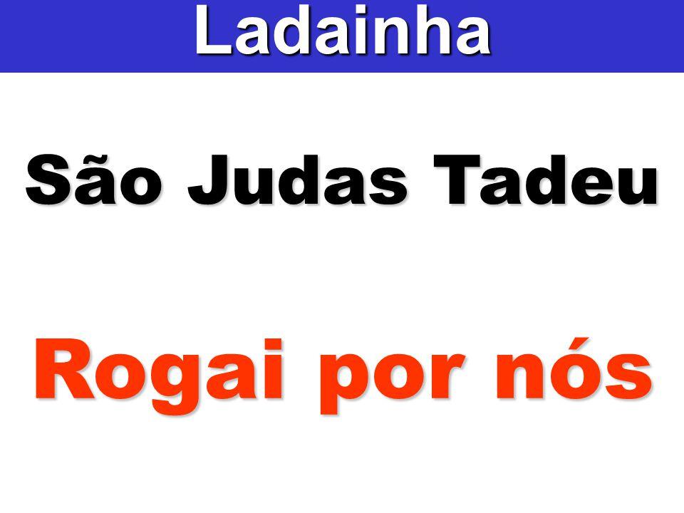 São Judas Tadeu Ladainha Rogai por nós
