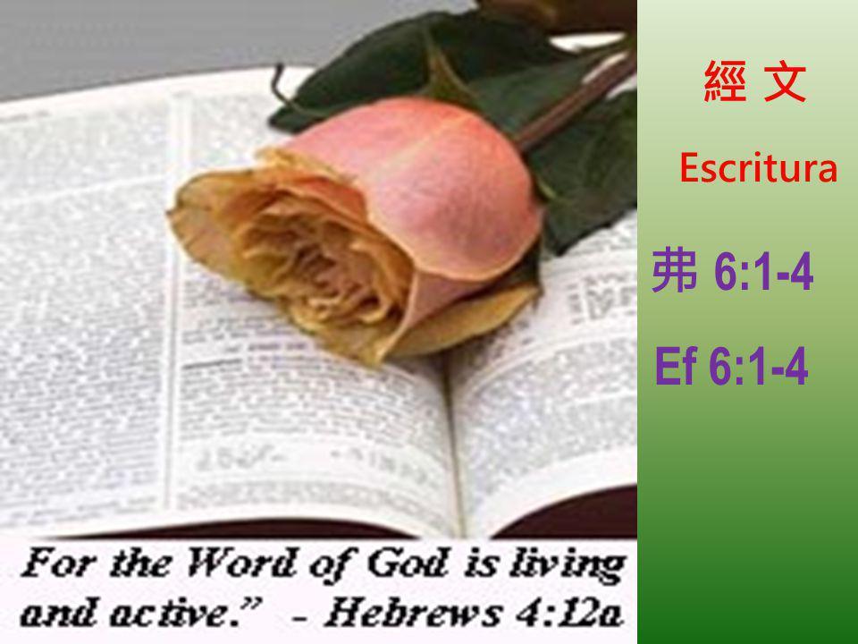 Escritura 6:1-4 Ef 6:1-4