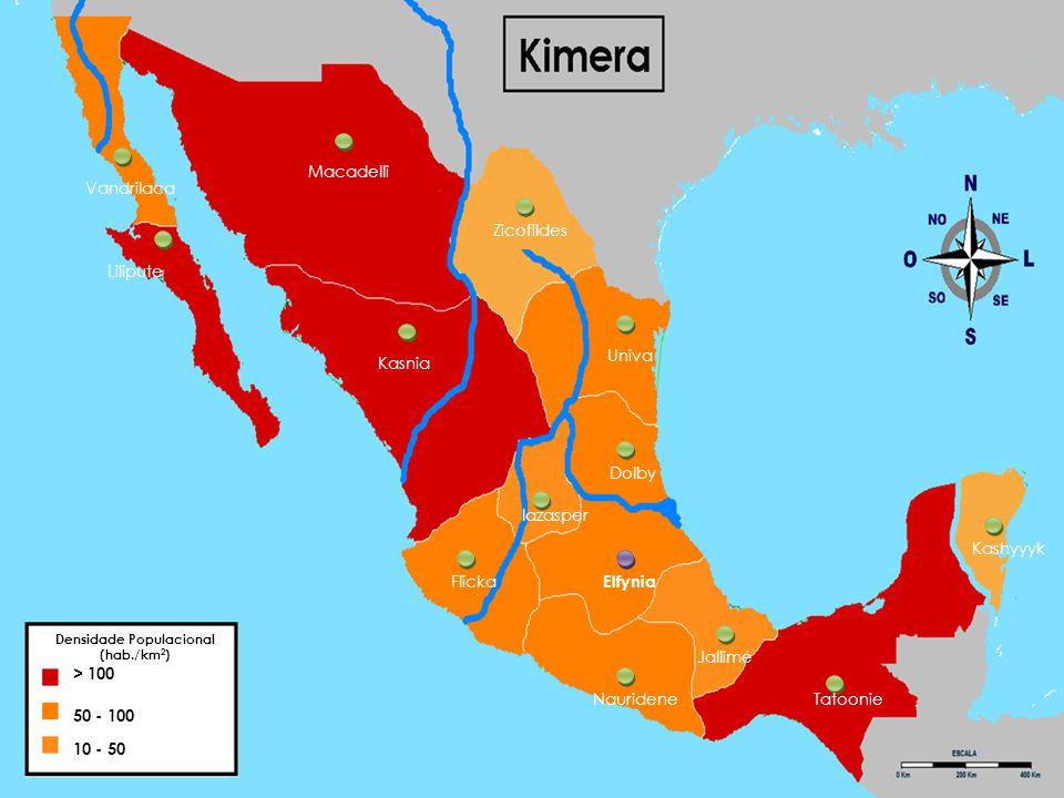 Em Kimera a população exerce especialmente: Golfe; Canoagem; Surf/Windsurf/ Kitesurf Ilha de Kashyyyk (ilha do golfe)