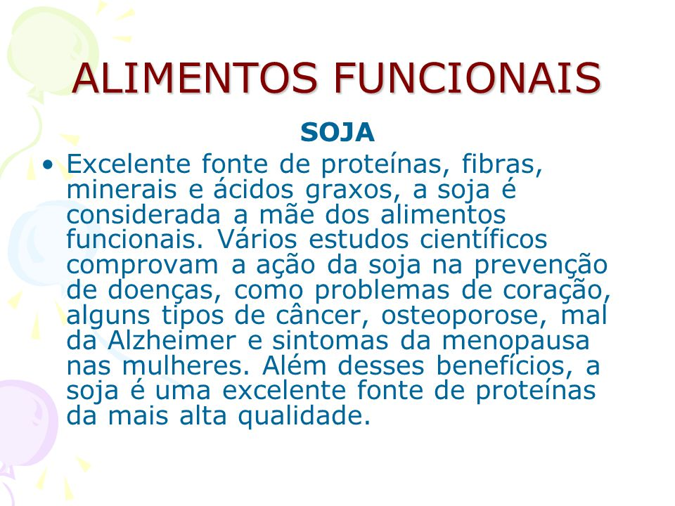 SOJA Para quem pratica atividades físicas a proteína de soja fornece os aminoácidos essenciais para obtenção de excelentes resultados.