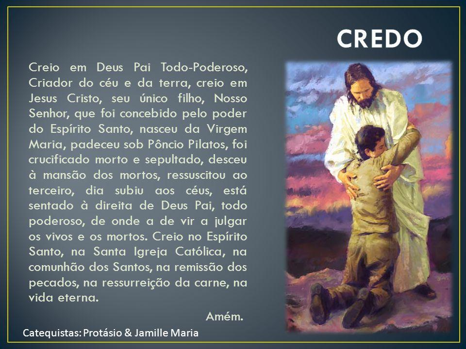 Glória ao Pai, ao Filho e ao Espírito Santo. Assim como era no princípio, agora e sempre. Amém.