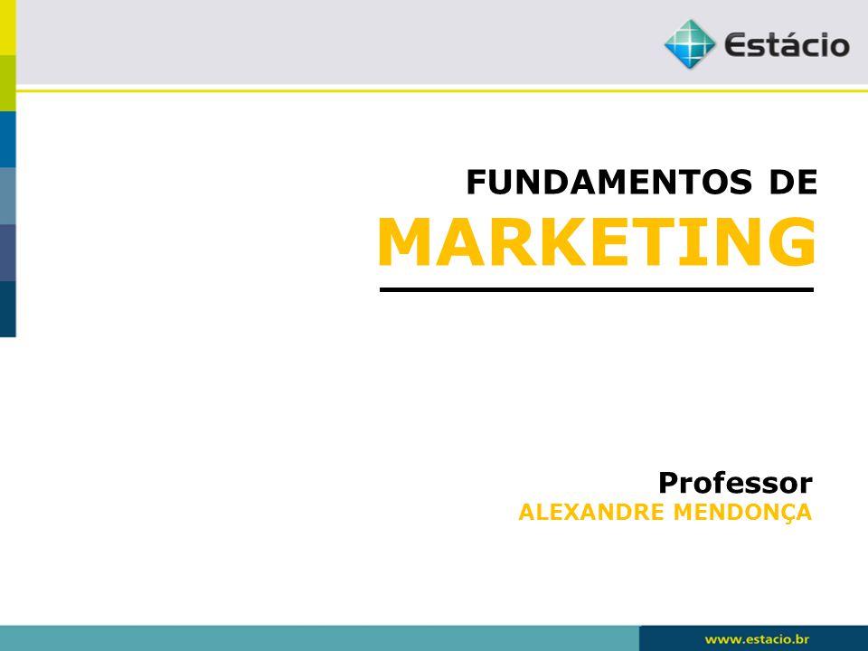 FUNDAMENTOS DE MARKETING Conceitos Centrais de Marketing O que são?
