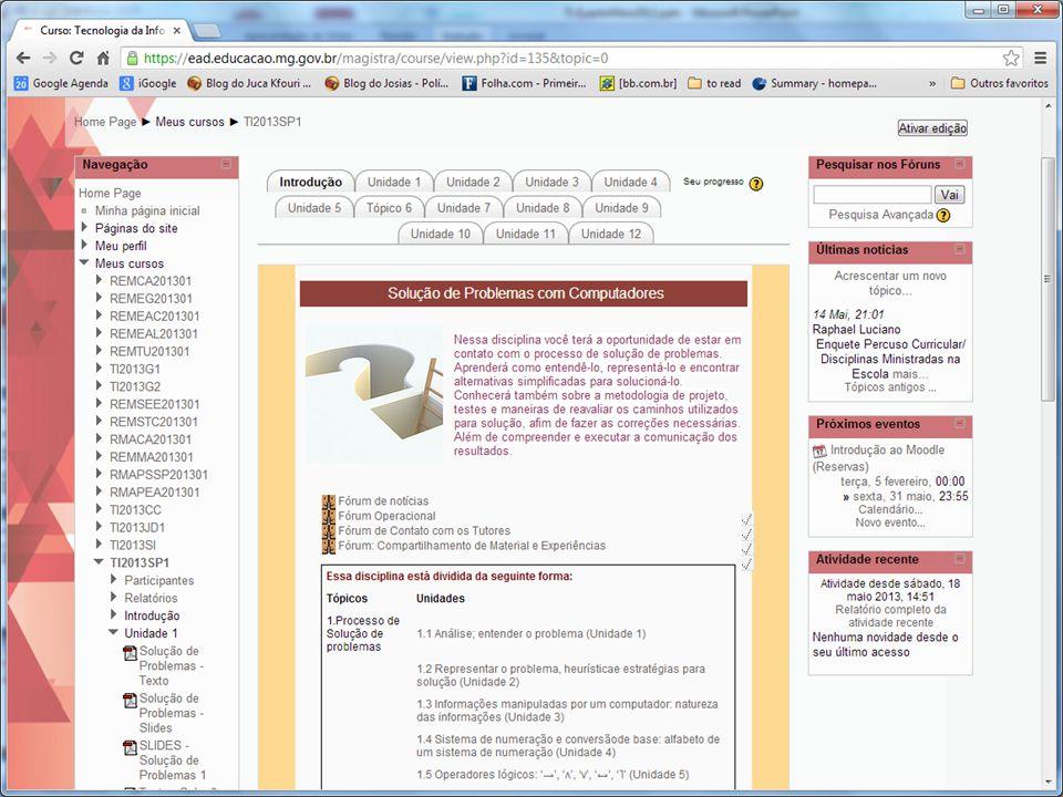 20.Junho.2013 Reinventando o Ensino Médio – Tecnologia da Informação 33