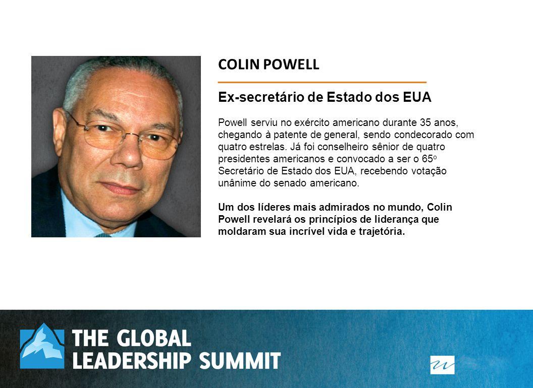 Ex-secretário de Estado dos EUA Powell serviu no exército americano durante 35 anos, chegando à patente de general, sendo condecorado com quatro estre