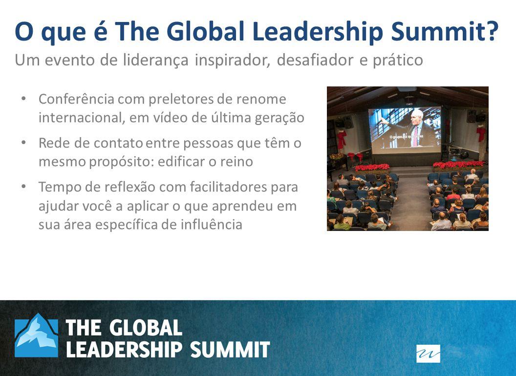 Fundador e pastor sênior, Willow Creek Community Church Idealizador do The Global Leadership Summit – evento hoje realizado em 90 países e aproximadamente 530 cidades.