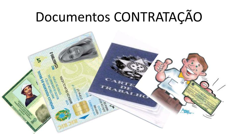 Documentos CONTRATAÇÃO