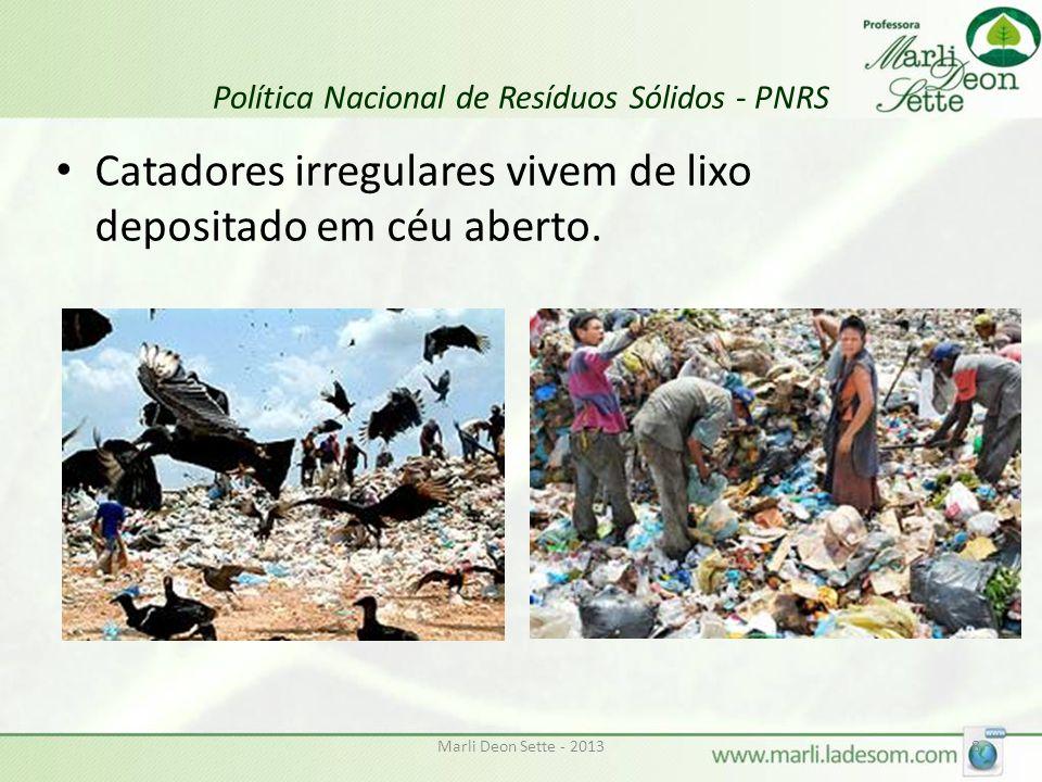 Marli Deon Sette - 20139 Política Nacional de Resíduos Sólidos - PNRS Comércios e carros sofrem prejuízo por entupimento de bueiros decorrente do lixo urbano.