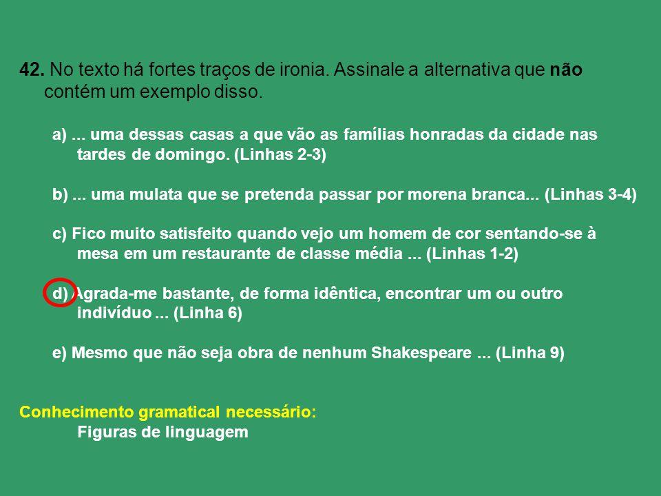 Recursos Fonológicos Aliteração (consoantes) Assonância (vogais) Onomatopéia (sons) Paranomasia (parecidas) Recursos Sintáticos Assíndeto (s/conectivos) Polissíndeto (vários conectivos) Inversão (alteração) Anáfora (estruturas) Anacoluto (oralidade) Silepse - de pessoa - de número - de gênero Recursos Semânticos Metáfora Catacrese (metáfora maior) Metonímia Antonomásia (apelido) Antítese (oposto) Eufemismo (delicadeza) Hipérbole (exagero) Ironia (deboche) Gradação Prosopopéia/Personificação Sinestesia (sensação) Apóstrofe (vocativo) A excelente Dona Inácia era mestra na arte de judiar de crianças.