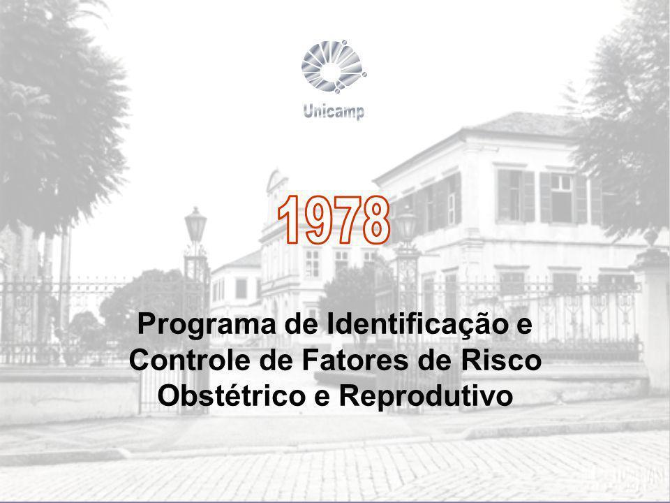 Programa de Identificação e Controle de Fatores de Risco Obstétrico e Reprodutivo