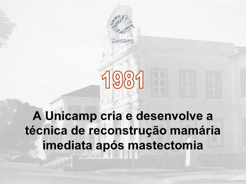 A Unicamp cria e desenvolve a técnica de reconstrução mamária imediata após mastectomia