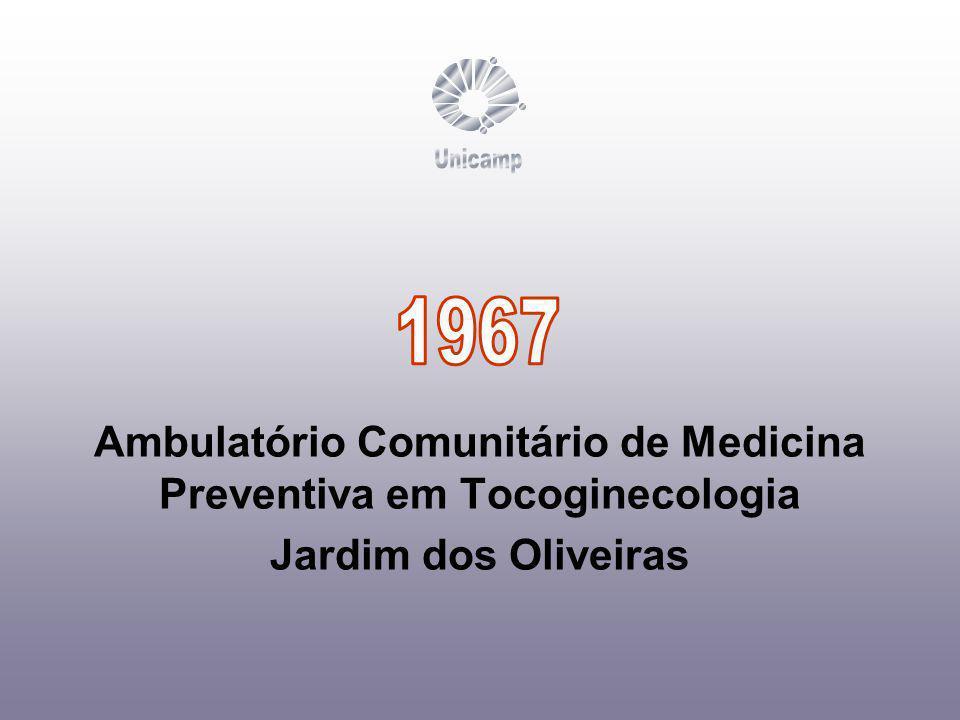 Ambulatório Comunitário de Medicina Preventiva em Tocoginecologia Jardim dos Oliveiras