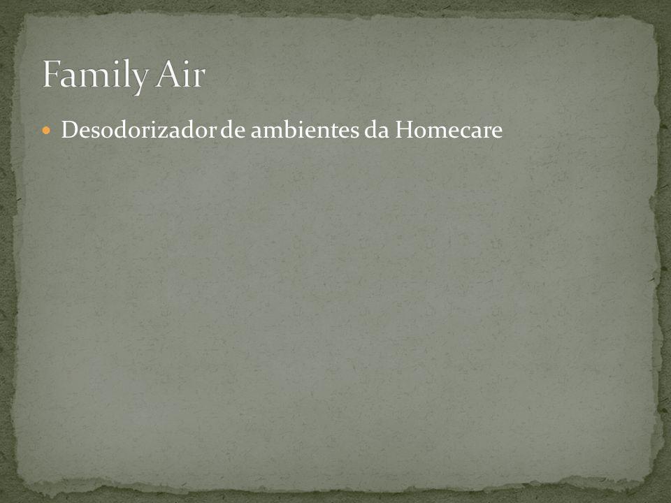 Desodorizador de ambientes da Homecare