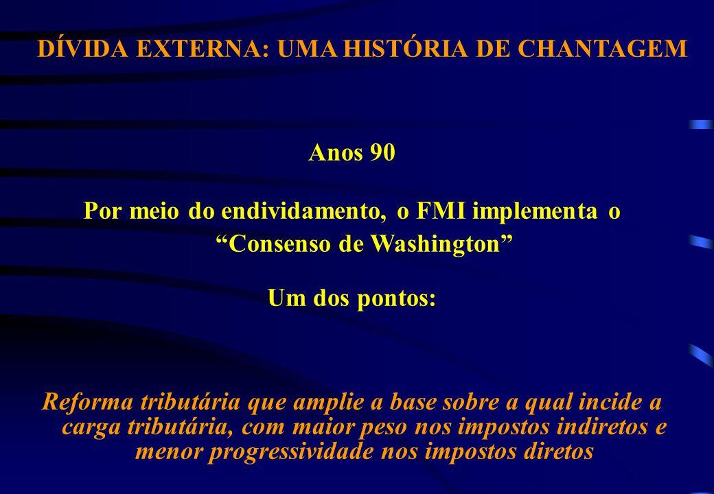 AUMENTO DA CARGA TRIBUTÁRIA: PARA QUÊ.Fuente: Secretaria da Receita Federal e Banco Central.