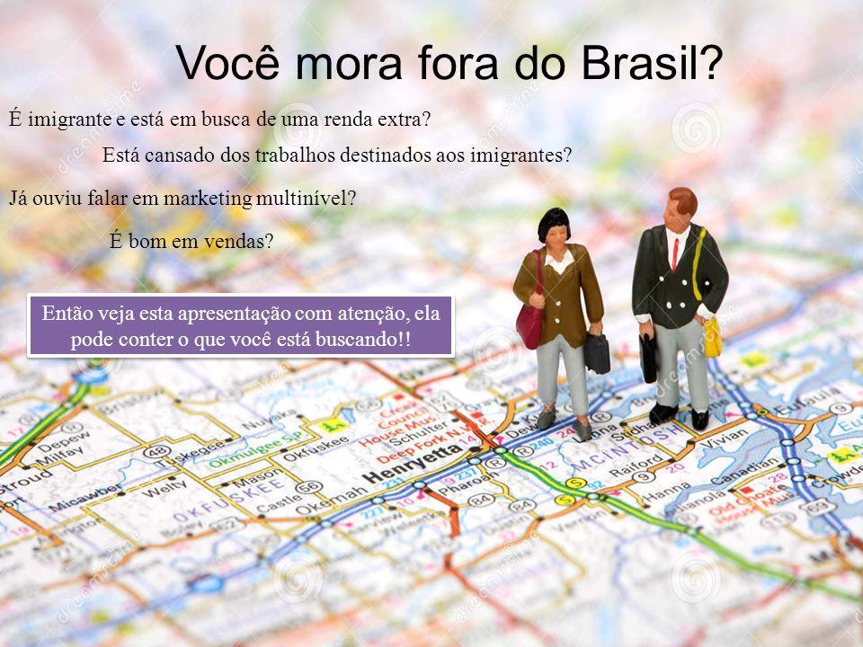Você mora fora do Brasil? É imigrante e está em busca de uma renda extra? Está cansado dos trabalhos destinados aos imigrantes? É bom em vendas? Já ou