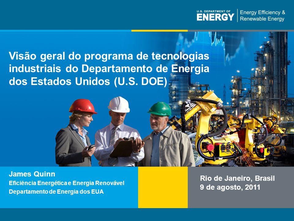 Nome do programa ou texto auxiliareere.energy.gov Visão geral do programa de tecnologias industriais do Departamento de Energia dos Estados Unidos (U.