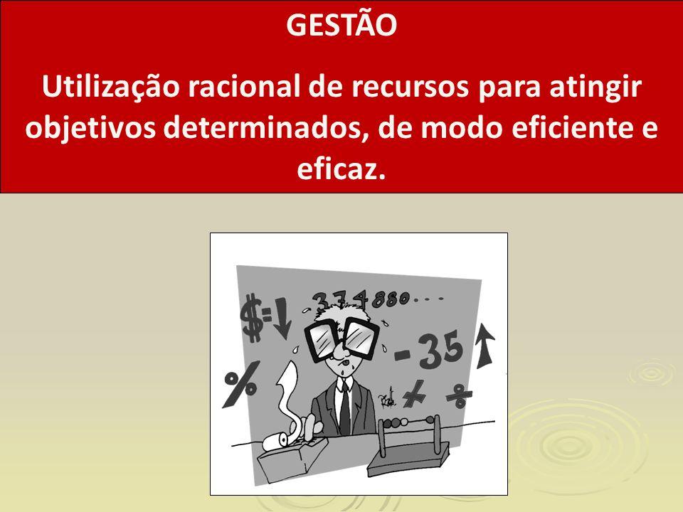 Utilização Racional: Que racionalidade orienta a Gestão.