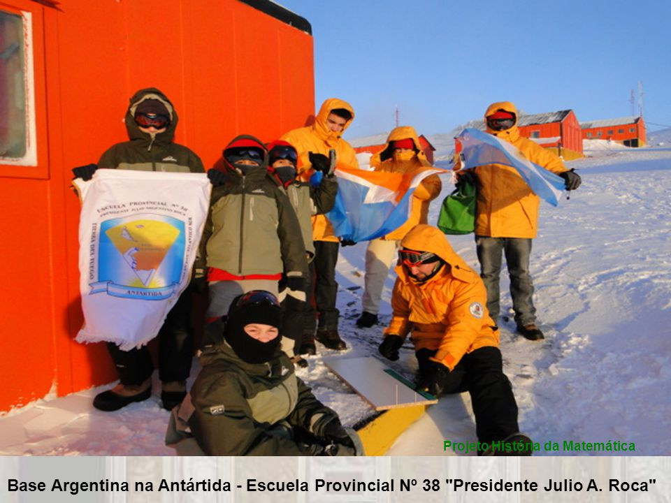 Base Argentina na Antártida - Escuela Provincial Nº 38