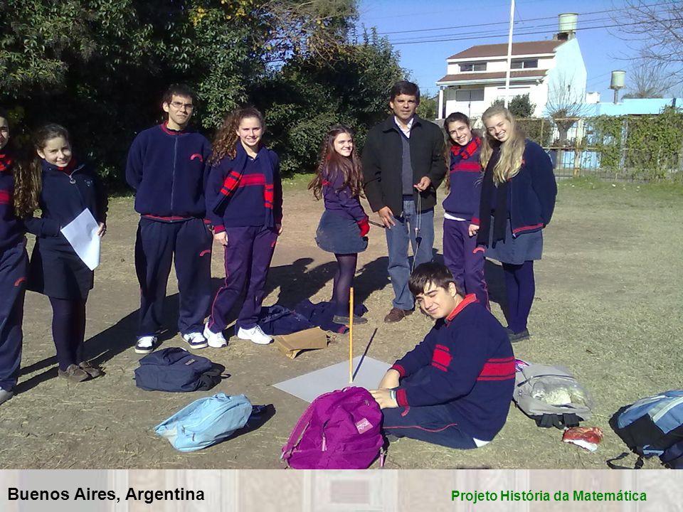 Buenos Aires, Argentina Projeto História da Matemática