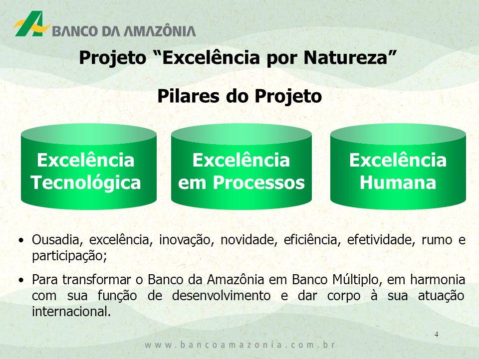 5 Os negócios se ajustam às linhas/programas (foco no produto) Ontem Amanhã As linhas/programas se adequam aos negócios (foco no cliente) Transição (Hoje) Política de financiamento
