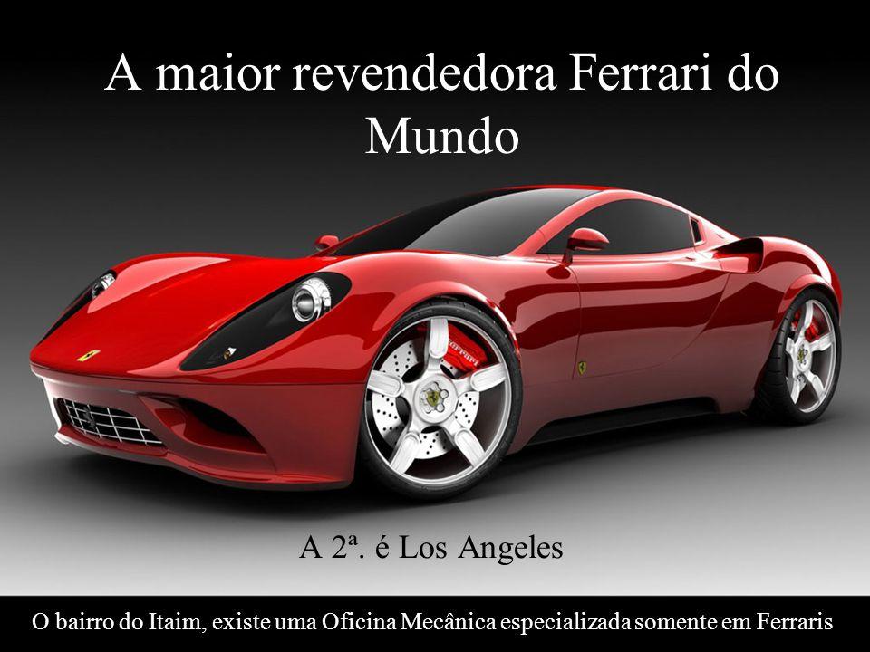 Levantamento Preparado por Harold McCardell - Consultor Financeiro - L L A I N V E S T I M E N T O S - t: (11) 3095-7073 | c: (11) 9982-0573 - f: (11) 3095-7071 - www.lla.com.br A maior revendedora Ferrari do Mundo A 2ª.