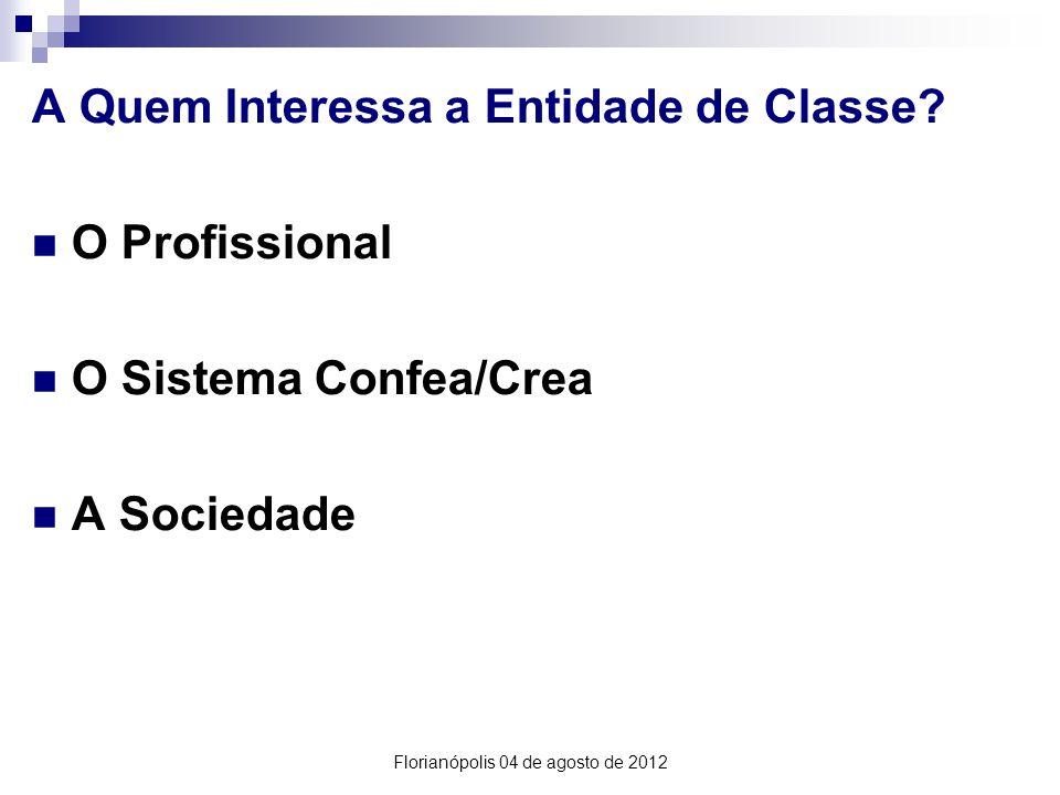 A Quem Interessa a Entidade de Classe.