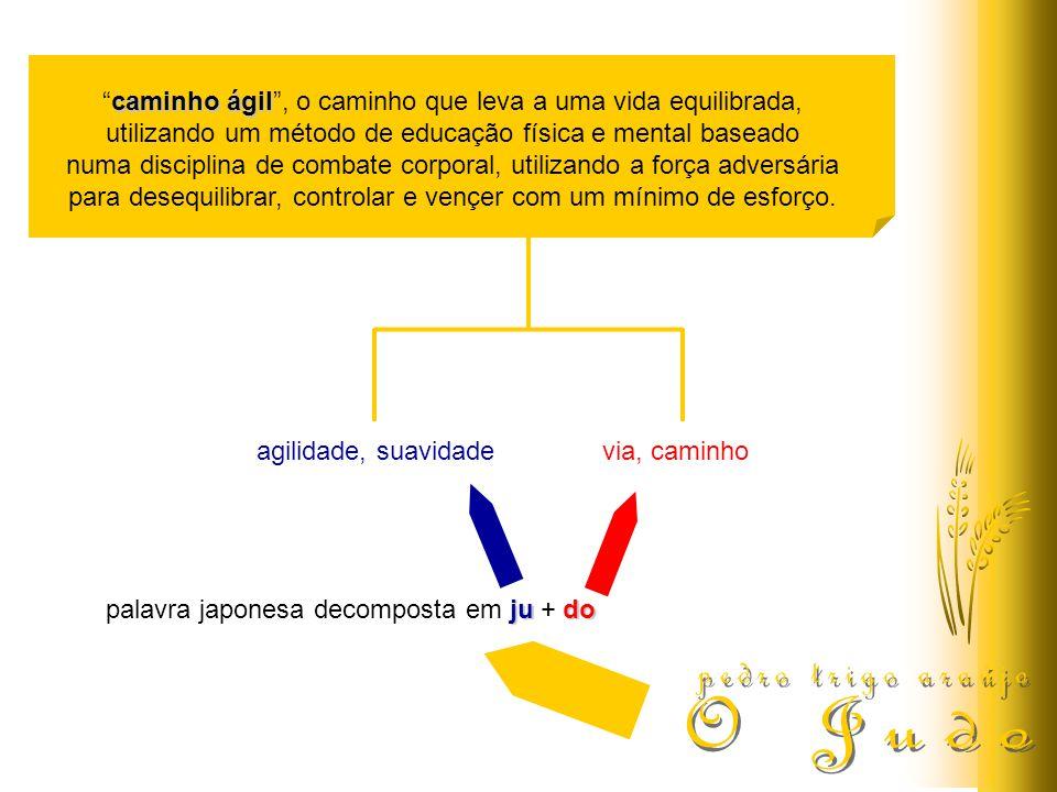 judo palavra japonesa decomposta em ju + do agilidade, suavidadevia, caminho caminho ágilcaminho ágil, o caminho que leva a uma vida equilibrada, util