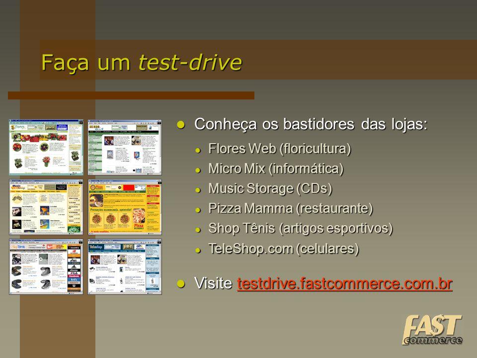 Faça um test-drive Conheça os bastidores das lojas: Conheça os bastidores das lojas: Flores Web (floricultura) Flores Web (floricultura) Micro Mix (in