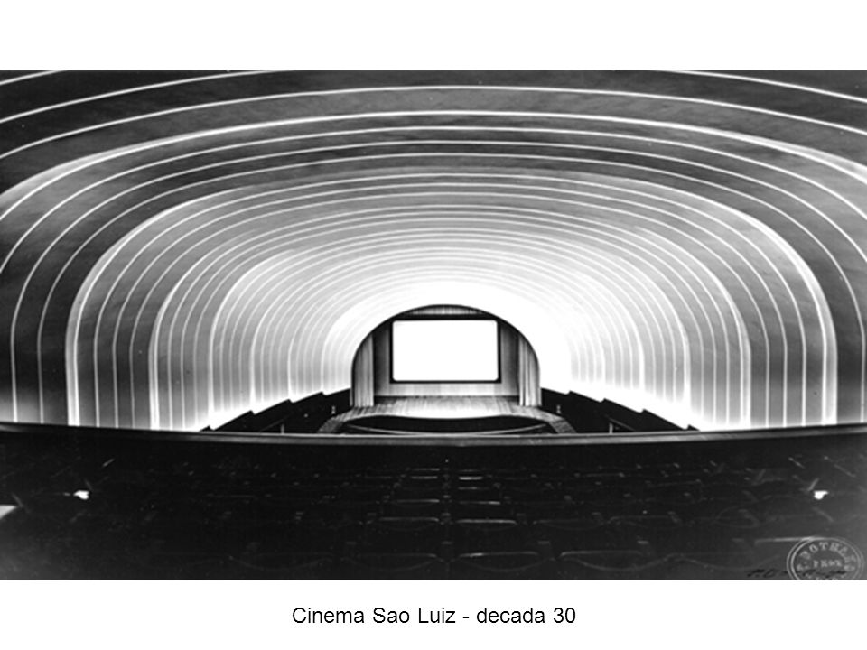 Cinema Sao Luiz - decada 30
