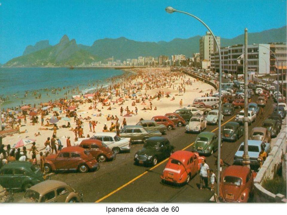 Entrada sede TV Globo 1965