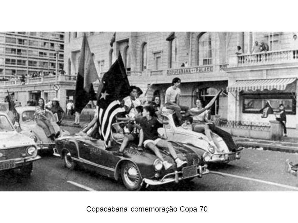 Copacabana comemoração Copa 70
