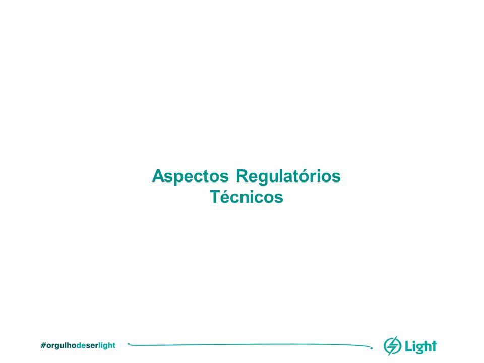 Aspectos Regulatórios Técnicos