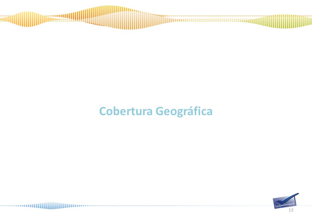 Cobertura Geográfica 13