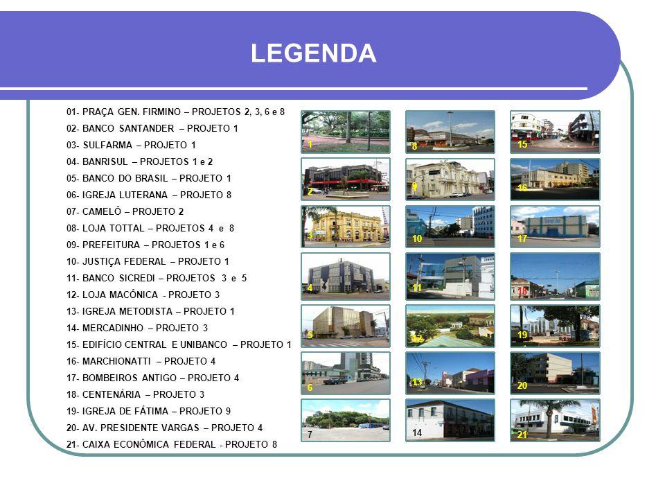 PRAÇA GENERAL FIRMINO - CENTRO 1 23 54 6 7 8 910 11 12 13 15 19 18 14 17 16 20 21 ALTITUDE 1.500 METROS Av. Mariz e Barros Av. Gen. Osório Av.Pres.Var