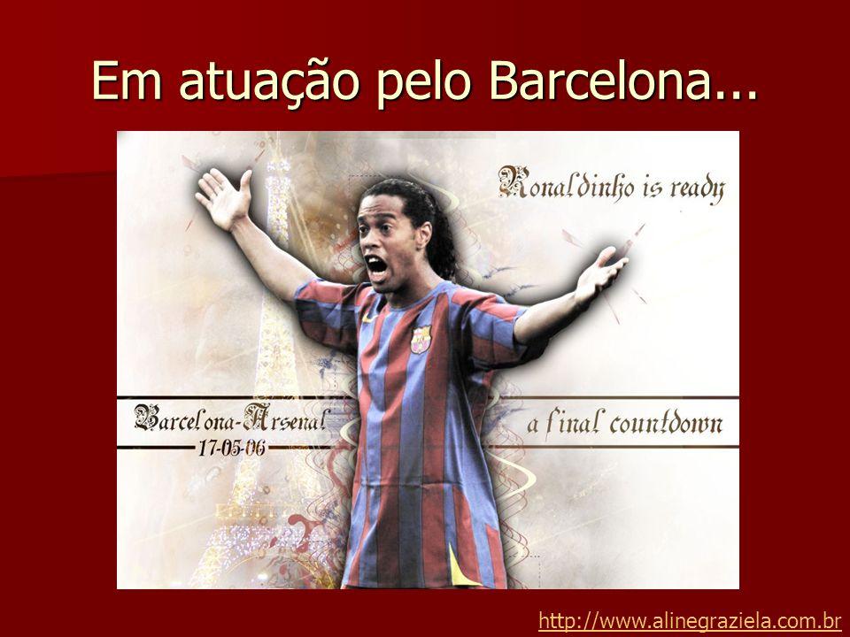 Em atuação pelo Barcelona... http://www.alinegraziela.com.br