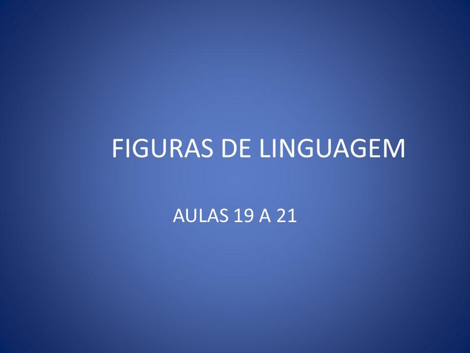 FIGURAS DE LINGUAGEM AULAS 19 A 21
