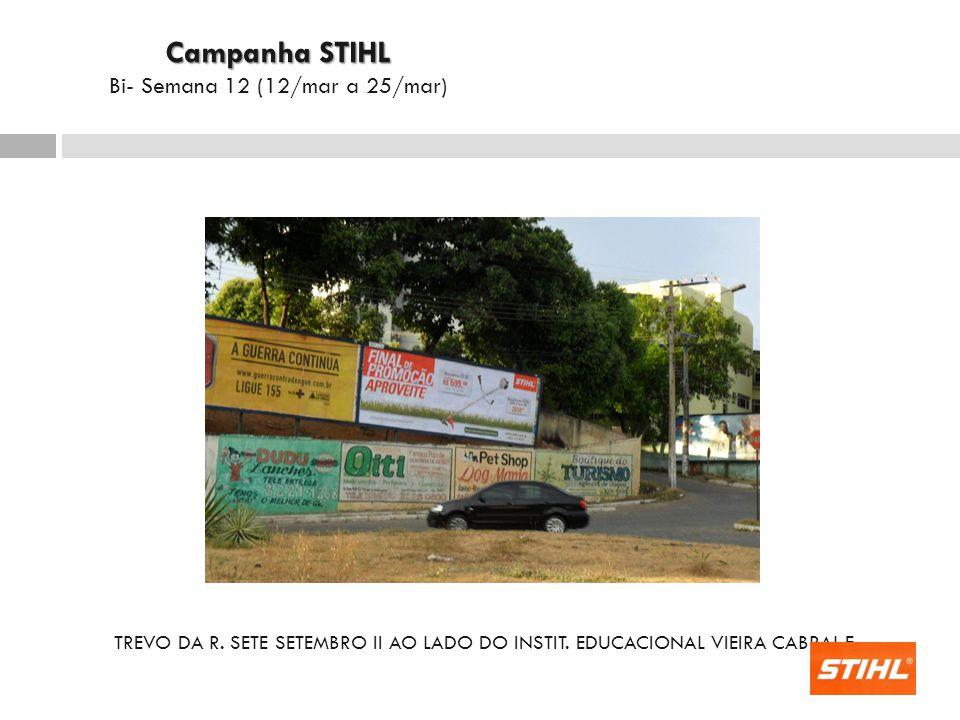 TREVO DA R.SETE SETEMBRO II AO LADO DO INSTIT.