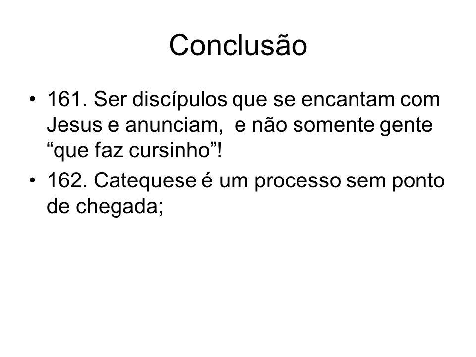 Conclusão 161.