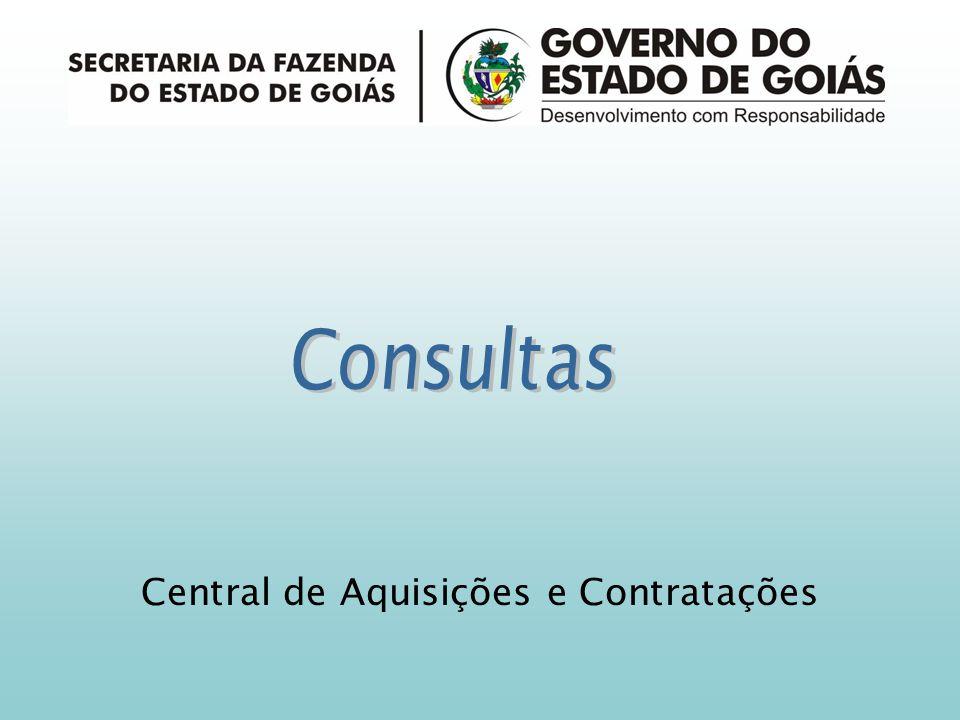Central de Aquisições e Contratações