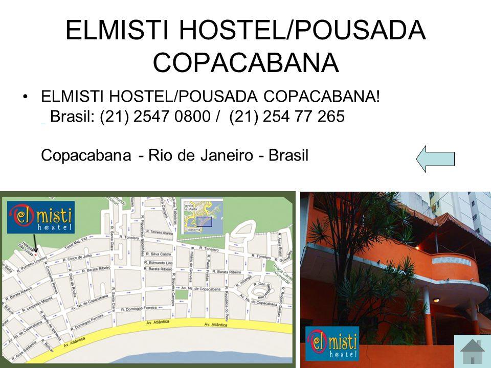 Hotel Atlântica Endereço Rua Siqueira Campos, 90 - Cep 22031-070 Copacabana - Rio de Janeiro - Brasil Central de reservas Tel: 21 2548-0011 Fax: 21 22