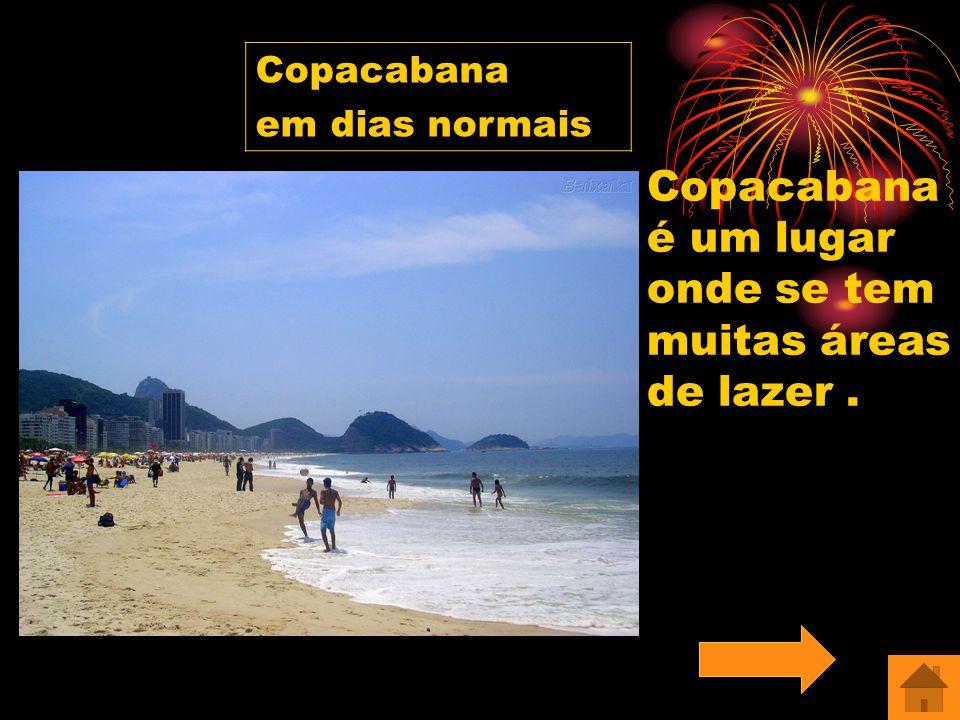 Copacabana Ipanema Barra da Tijuca Comentário