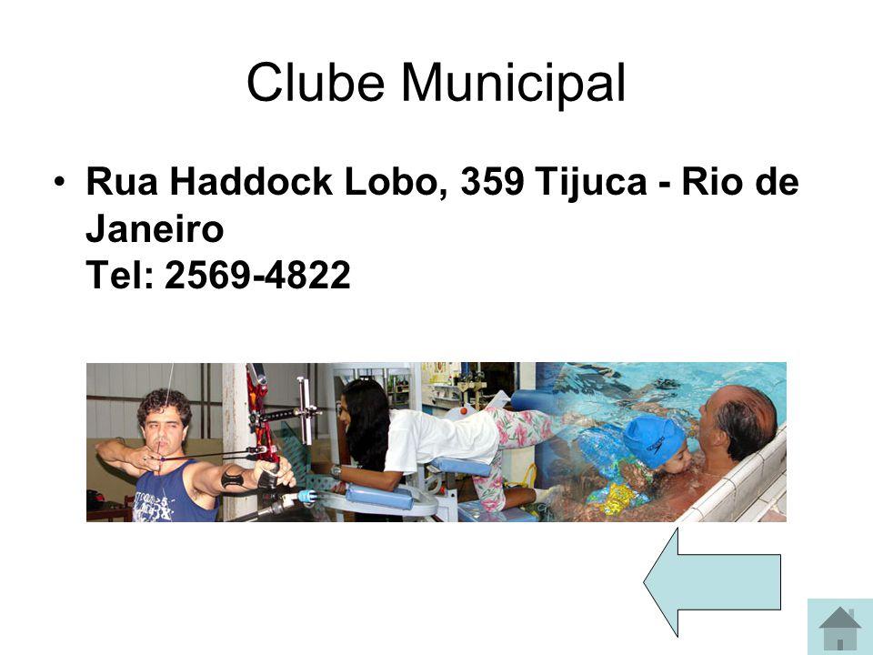 Clube Guanabara Sede: Av. Repórter Nestor Moreira nº 42 - Botafogo Rio de Janeiro - RJ - CEP: 22290 -210 TEL: (21) 2295-2597 / 2541-2049