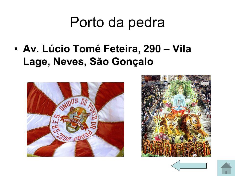 Mocidade Rua Coronel Tamarindo, 38 - Padre Miguel - Rio de Janeiro - RJ - CEP 21870-000 www.mocidadeindependente.com.br