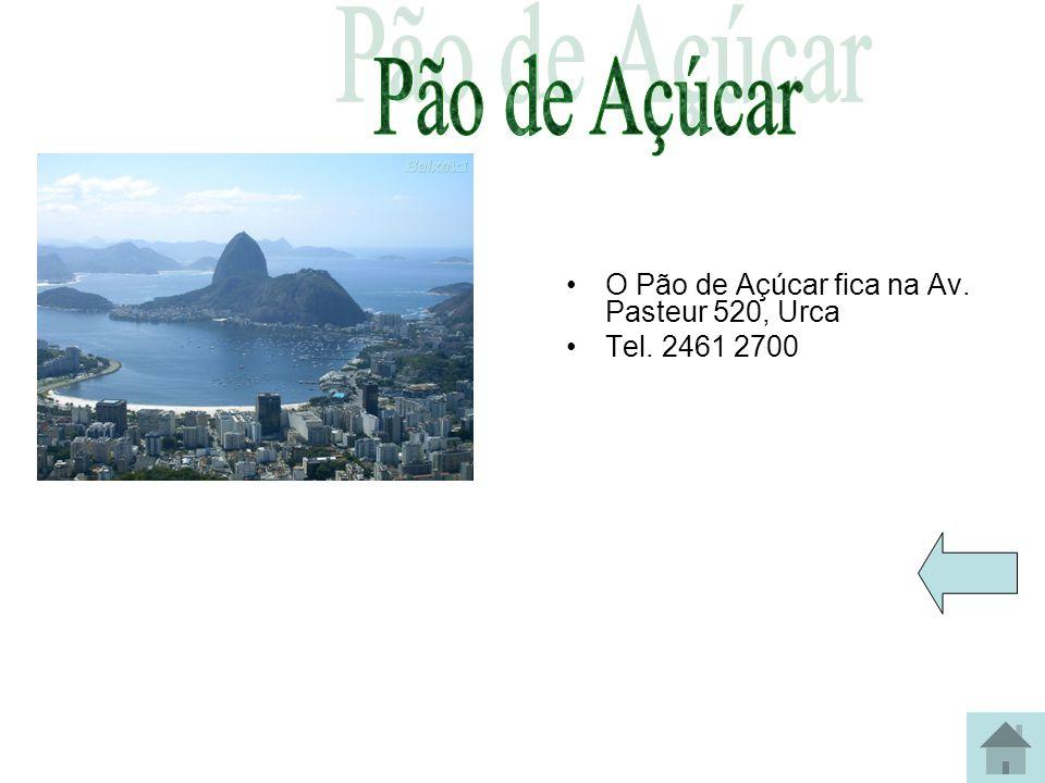 No Corcovado fica o Cristo Redentor Localização O morro do Corcovado está situado na Serra da Carioca e faz parte do Parque Nacional da Tijuca. Acesso