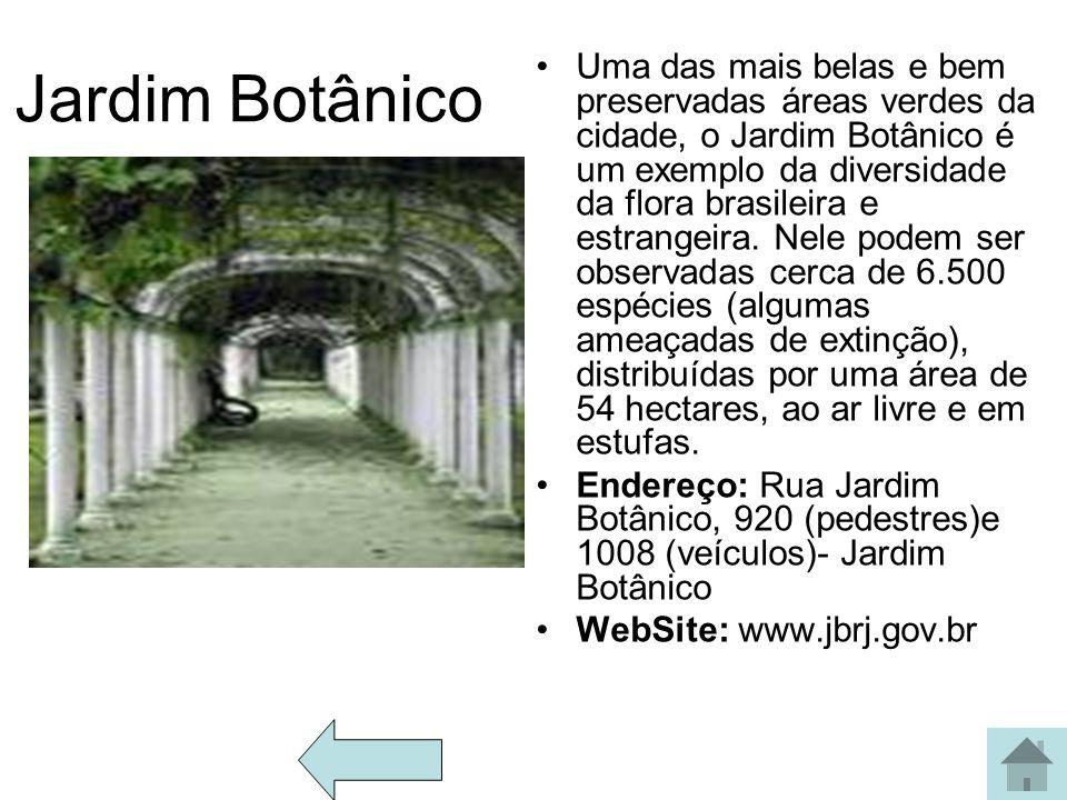 Arcos da lapa O Aqueduto da Carioca, popularmente conhecido como os Arcos da Lapa, localiza-se no bairro da Lapa. Considerada como a obra arquitetônic