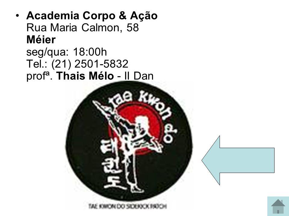 Academia Riaj Av 28 de Setembro, 52 / Sobrado Vila Isabel ter/qui: 10:00h / 16:00h / 19:00h Tel.: (21) 2567-2598 prof. Leandro Davi - I Dan