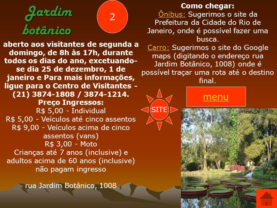 Parque Lage Localização Rua Jardim Botânico, nº 414 Chafariz e bancos proporcionam ao visitante um agradável momento junto à natureza, no Parque Lage.